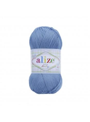 24 темно - голубой