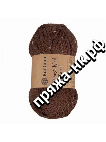 MELANGE WOOL TWEED